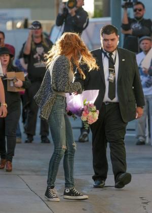 Bella Thorne: Arriving at Jimmy Kimmel Live -31
