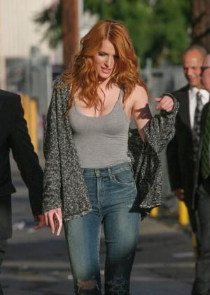 Bella Thorne: Arriving at Jimmy Kimmel Live -32