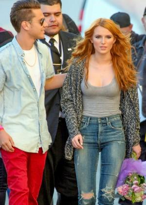 Bella Thorne: Arriving at Jimmy Kimmel Live -38
