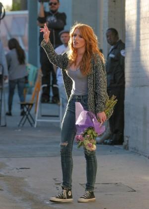 Bella Thorne: Arriving at Jimmy Kimmel Live -39