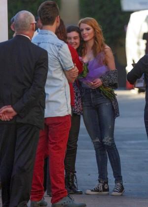Bella Thorne: Arriving at Jimmy Kimmel Live -40