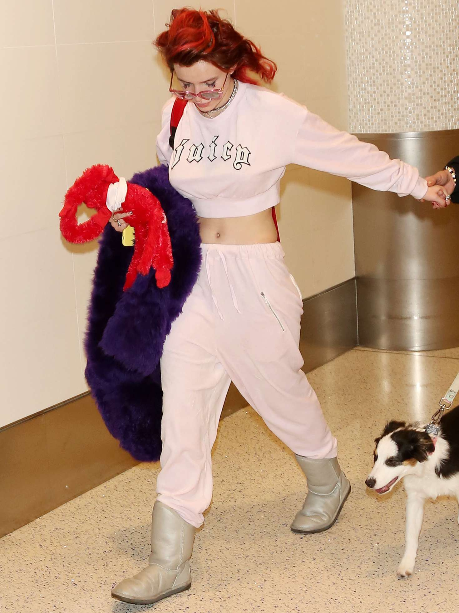 Bella Thorne - Arriving at LAX Airport in Los Angeles