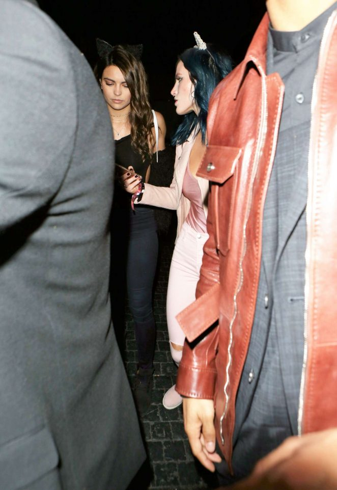 Bella Thorne: Arriving at the Grammy after party -13