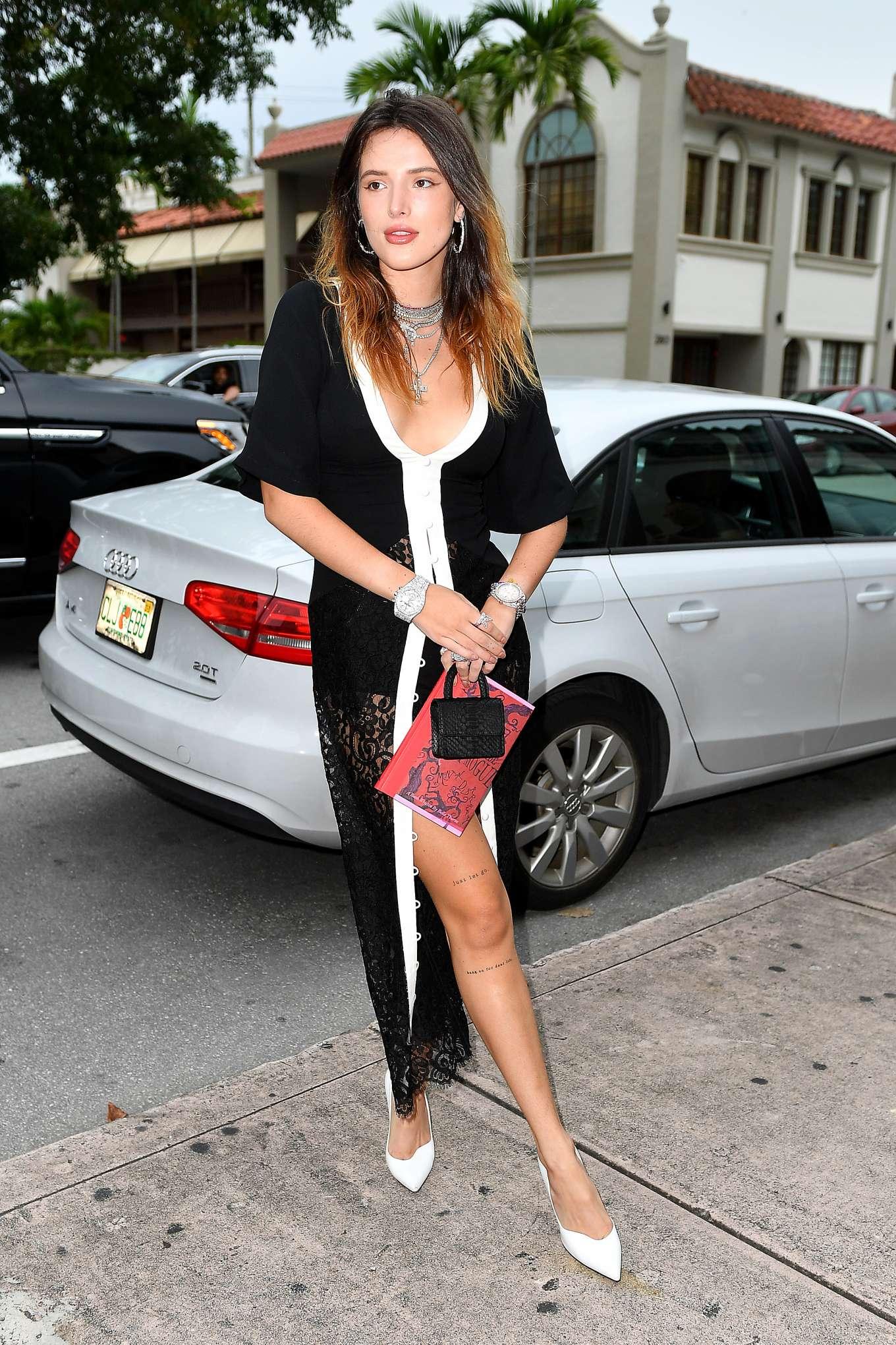 Bella Thorne 2019 : Bella Thorne – Arriving for her book signing in Coral Gables-04