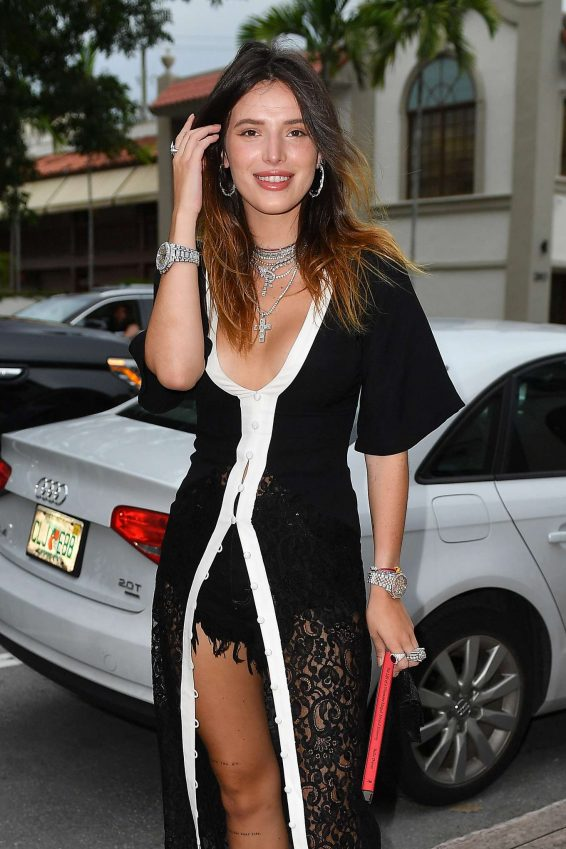 Bella Thorne - Arriving for her book signing in Coral Gables