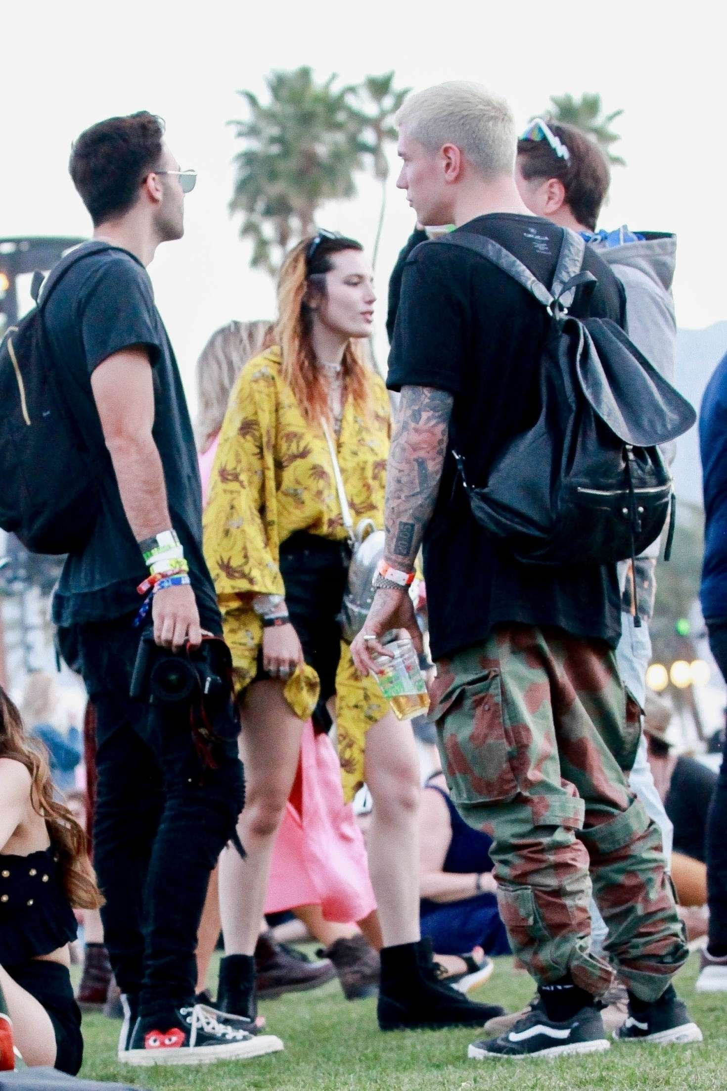 Bella Thorne 2019 : Bella Thorne at 2019 Coachella -01