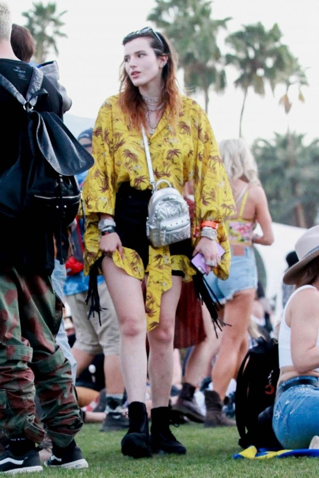 Bella Thorne 2019 : Bella Thorne at 2019 Coachella -21