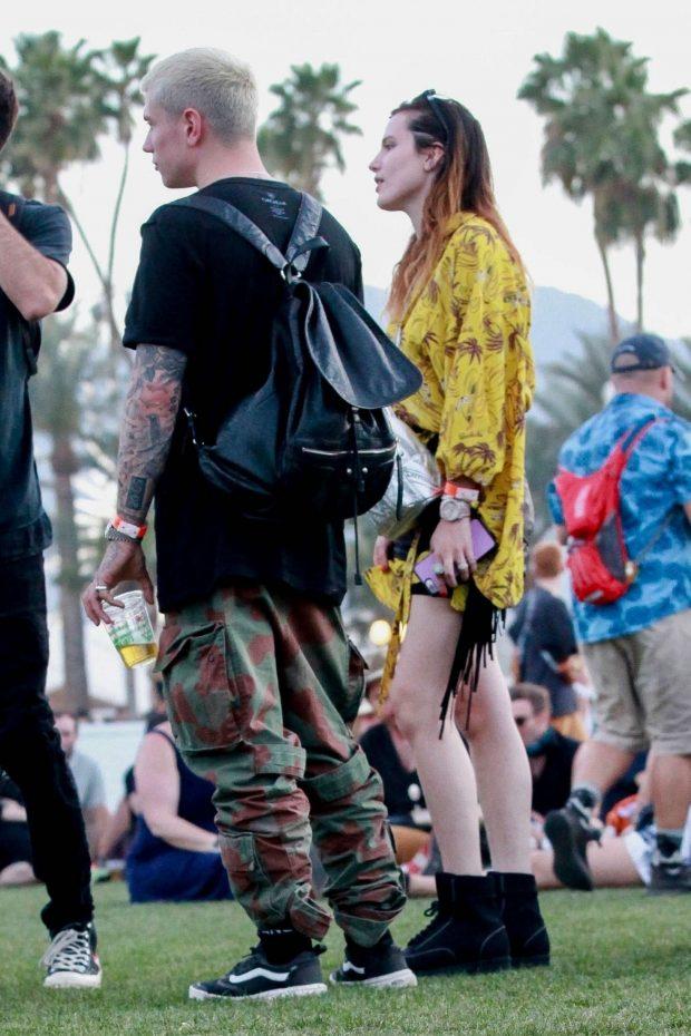 Bella Thorne at 2019 Coachella -22
