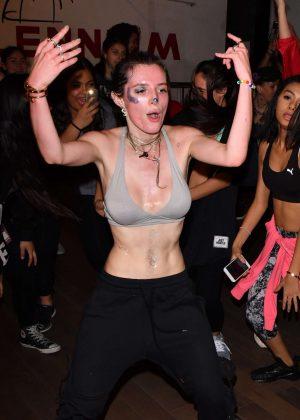 Bella Thorne at a Dance Class at Millennium Dance Complex in Studio City