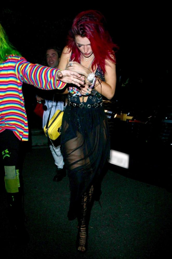 Bella Thorne at an after party in LA
