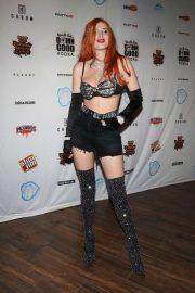 Bella Thorne at Coachella Music Festival in Indio
