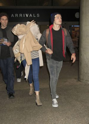 Bella Thorne at LAX Airport in Los Angeles