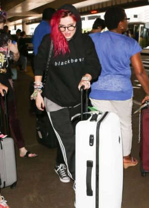 Bella Thorne at LAX International Airport in LA