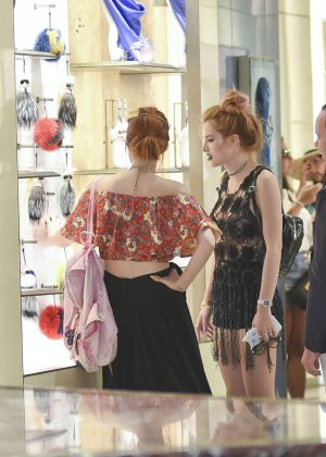 Bella Thorne at St Peters Square in Rome -08