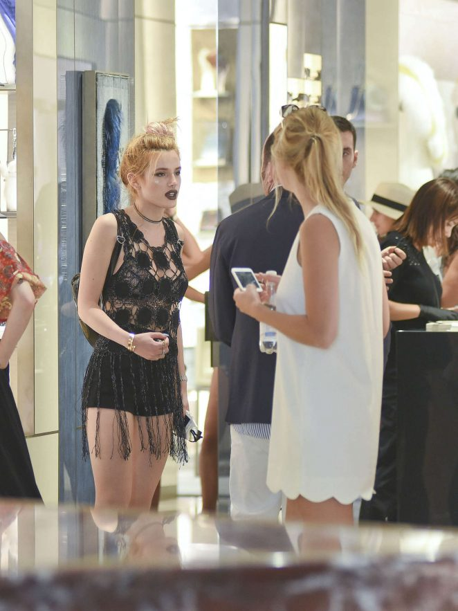 Bella Thorne at St Peters Square in Rome -22