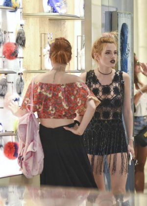 Bella Thorne at St Peters Square in Rome -31
