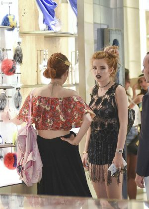 Bella Thorne at St Peters Square in Rome -39