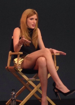 Bella Thorne at the Apple Store in London