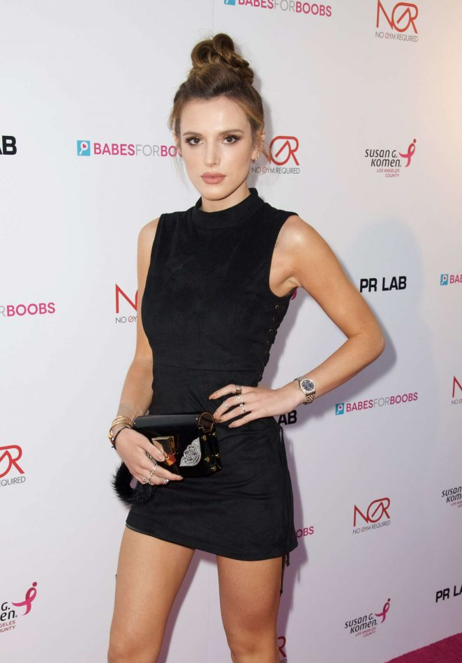 Bella Thorne - Babes For Boobs Live Bachehelor Auction For Breast Cancer Research in LA