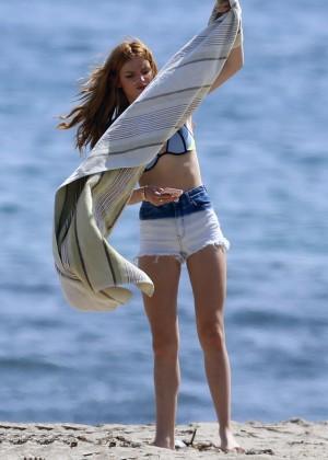 Bella Thorne Bikini in Malibu-03