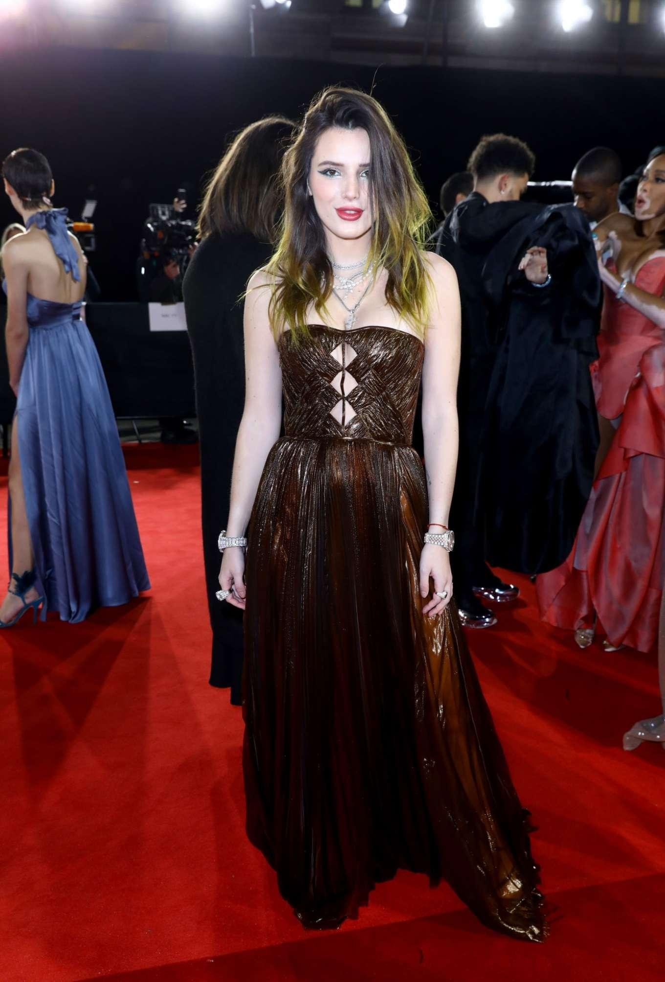 Bella Thorne 2019 : Bella Thorne – Fashion Awards 2019 in London-02