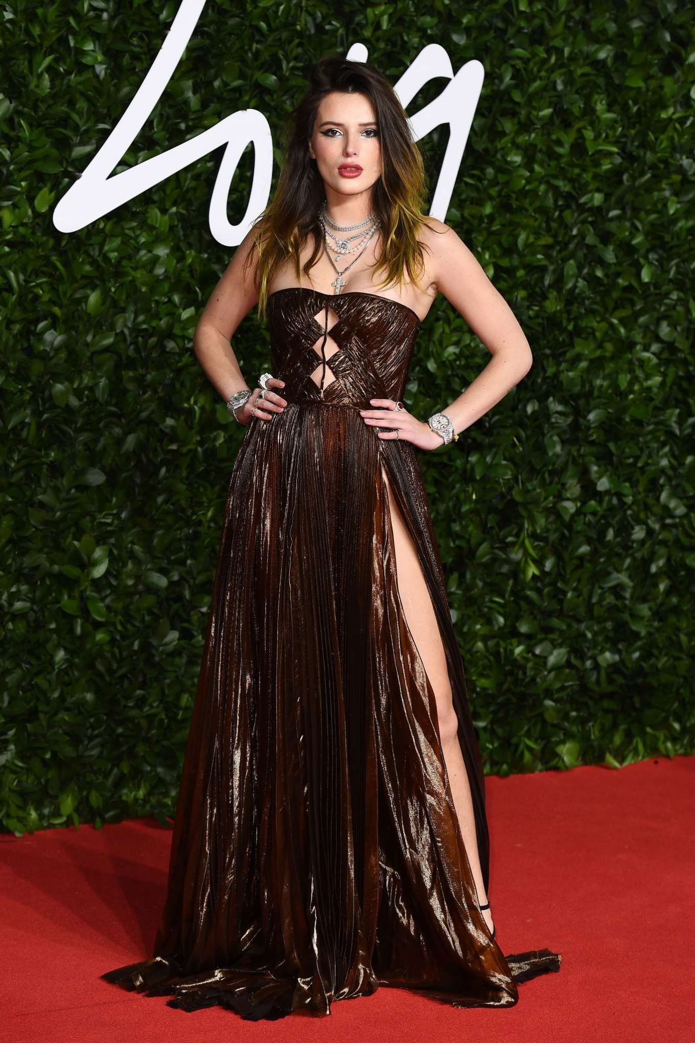 Bella Thorne 2019 : Bella Thorne – Fashion Awards 2019 in London-03