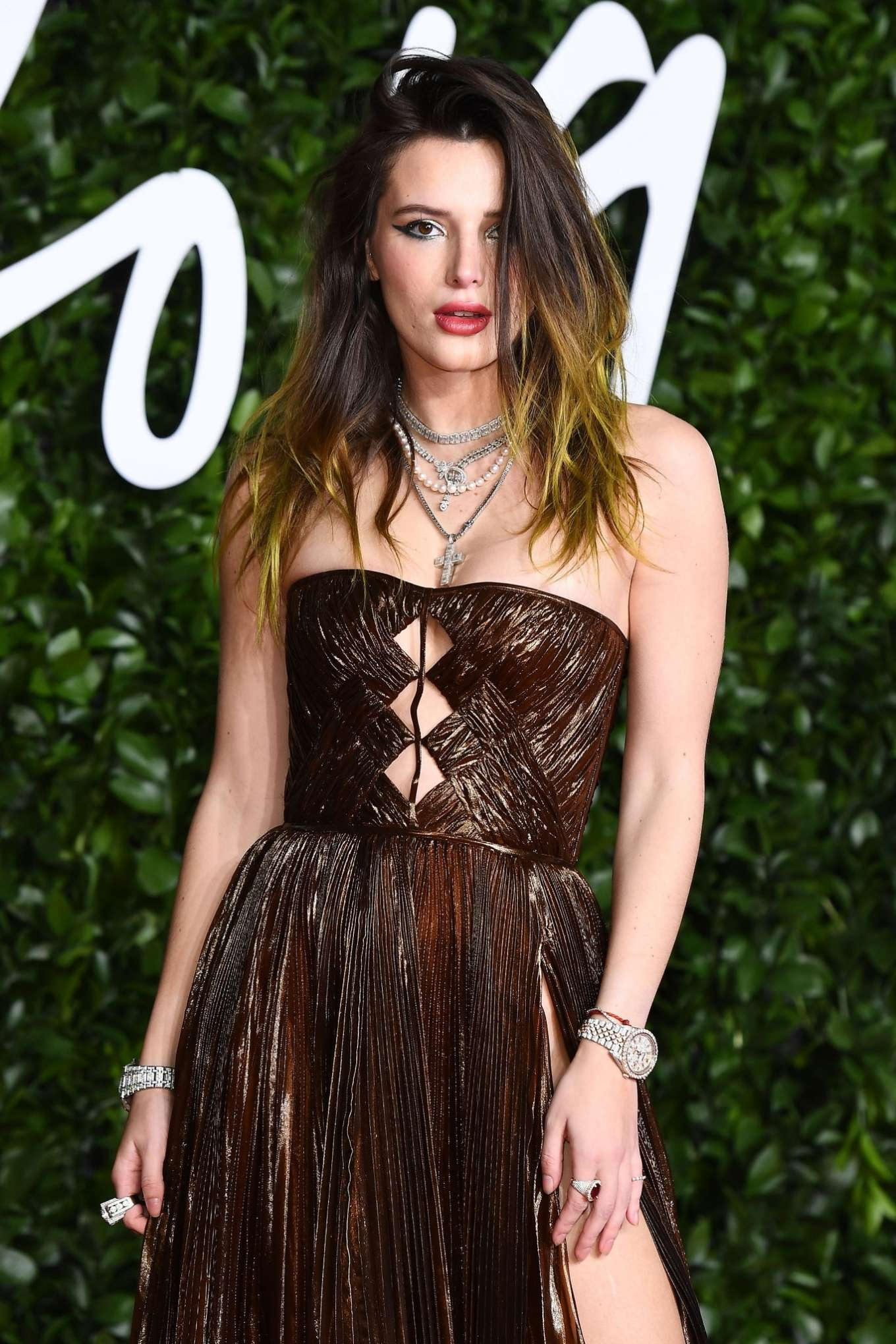 Bella Thorne - Fashion Awards 2019 in London