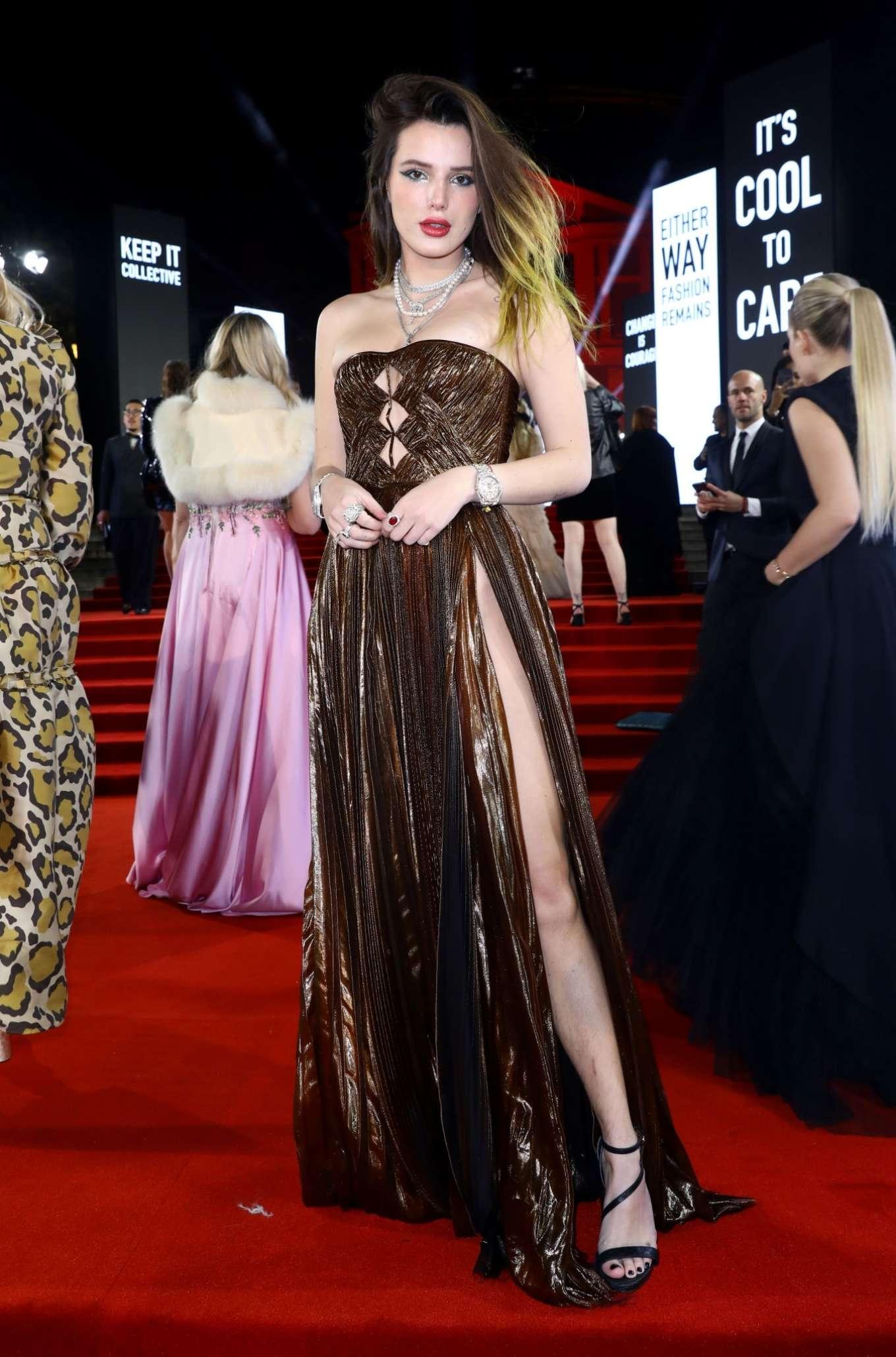 Bella Thorne 2019 : Bella Thorne – Fashion Awards 2019 in London-06
