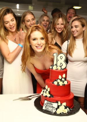 Bella Thorne: Celebrates Her 18th Birthday -12
