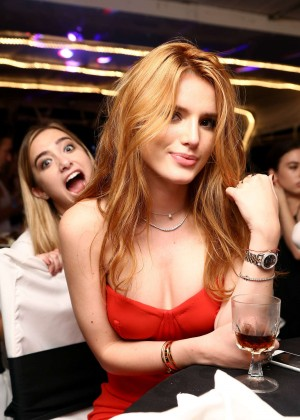 Bella Thorne - Celebrates Her 18th Birthday on a Yacht in LA