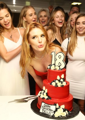 Bella Thorne: Celebrates Her 18th Birthday -32