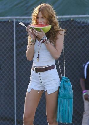 Bella Thorne - Coachella Music Festival Day 2 in Indio