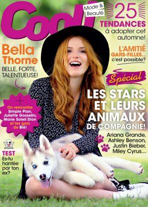 Bella Thorne - Cool Magazine (October 2016)