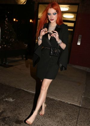 Bella Thorne - Daily Front Row kick off party in New York