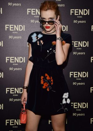 Bella Thorne - Fendi Roma 90 Years Anniversary Welcome Cocktail Party in Rome