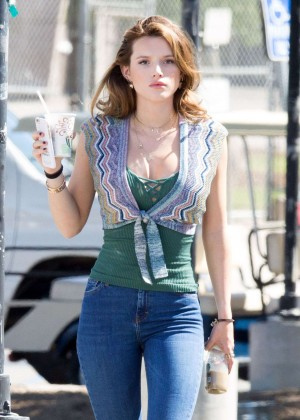 Bella Thorne - Filming 'You Get Me' in LA