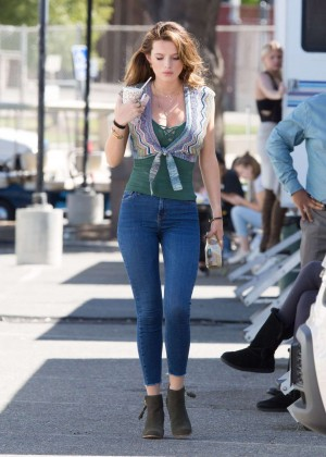 Bella Thorne: Filming You Get Me -11