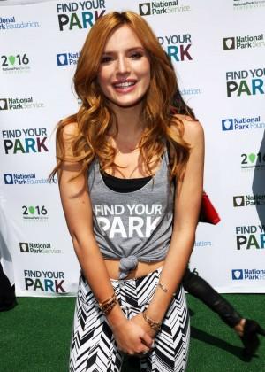 Bella Thorne - #FindYourPark Centennial Launch in NYC