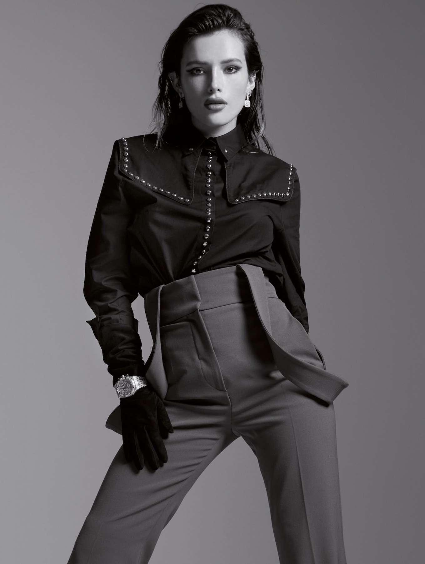 Bella Thorne for L'officiel Italy Magazine (September 2019)