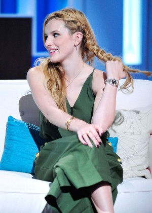 Bella Thorne at 'Boris And Nicole Show' in LA