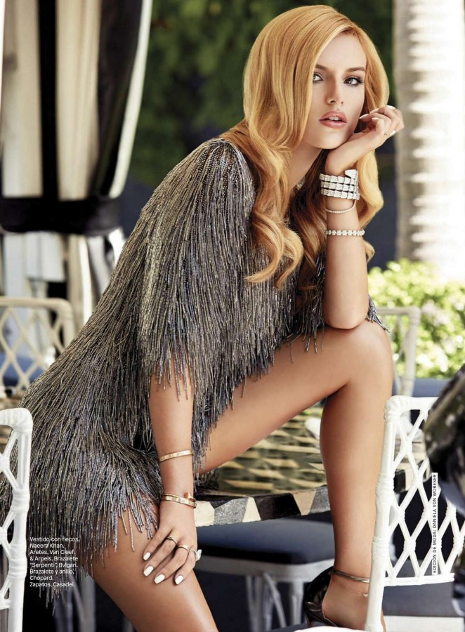 Bella Thorne – Glamour Mexico (December 2015) adds