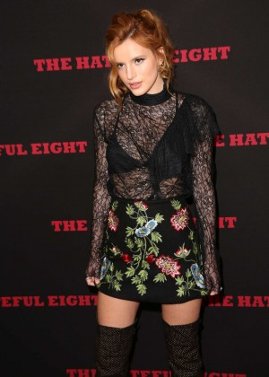 Bella Thorne - 'Hateful Eight' Premiere in Los Angeles