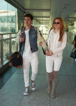 Bella Thorne - Heathrow Airport in London