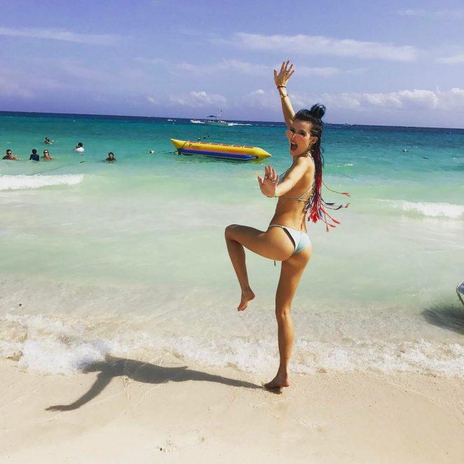 Bella Thorne Hot in Bikini - Instagram