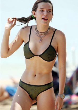 Bella Thorne in Bikini on the beach in Maui