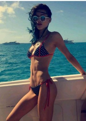 Bella Thorne in Bikini - Social Media Pics