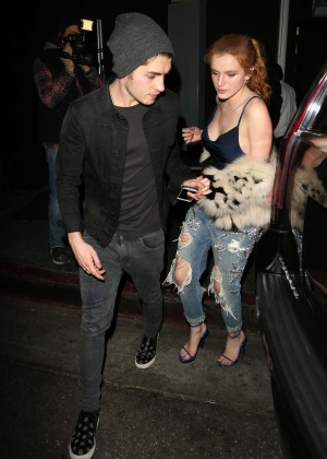 Bella Thorne in Ripped Jeans -07