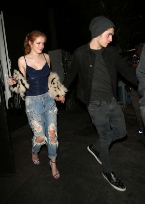 Bella Thorne in Ripped Jeans -13