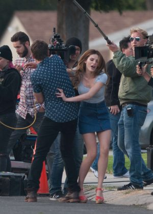 Bella Thorne in Mini Skirt On You Get Me -01
