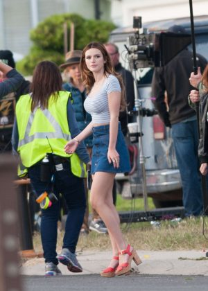 Bella Thorne in Mini Skirt On You Get Me -24